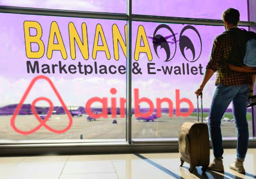 BANANA00 Marketplace offers an account for collecting Airbnb